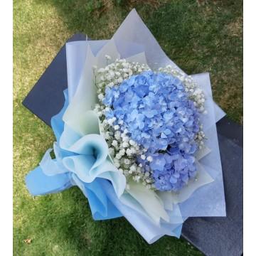 """The Hydrangea"" Hand Bouquet"